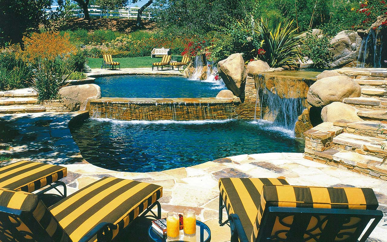 Residential Pool and Landscape Design